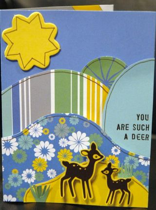 Jen 05 card - You Are Such a Deer