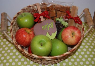 Caramel Apple Basket