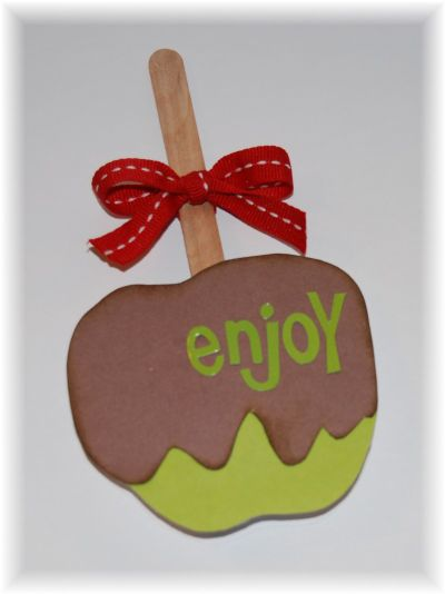 Caramel Apple Card 1