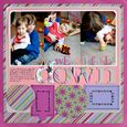 """We All Fall Down"" Layout using Mary, Mary Quite Contrary Collection from Piggy Tales"