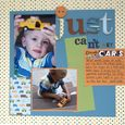 """Just Can't Get Enough Cards"" Layout using Tortoise and the Hare Collection from Piggy Tales"