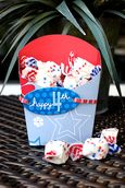 """Happy 4th"" Goodie Bag using Yankee Doodle Collection from Piggy Tales"