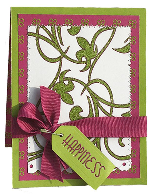 """""""Happiness"""" Card using Beauty and the Beast Collection from Piggy Tales"""